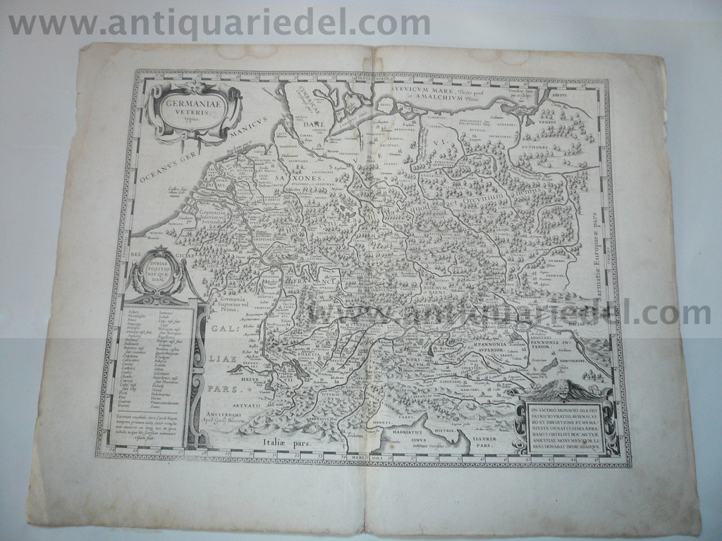 Germaniae, Blaeu, anno 1635, german text