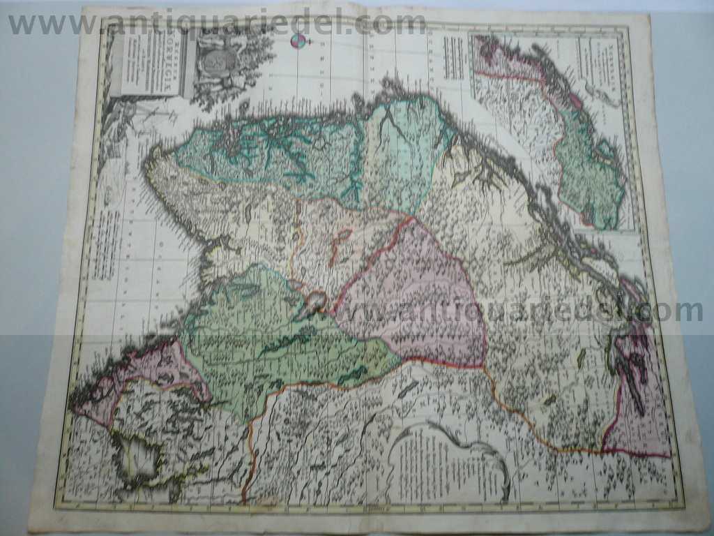 Norway,map,Seutter M.,anno 1730