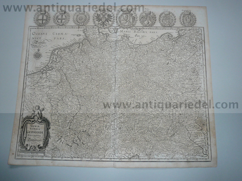 Generalmap of Germany, Merian anno 1646