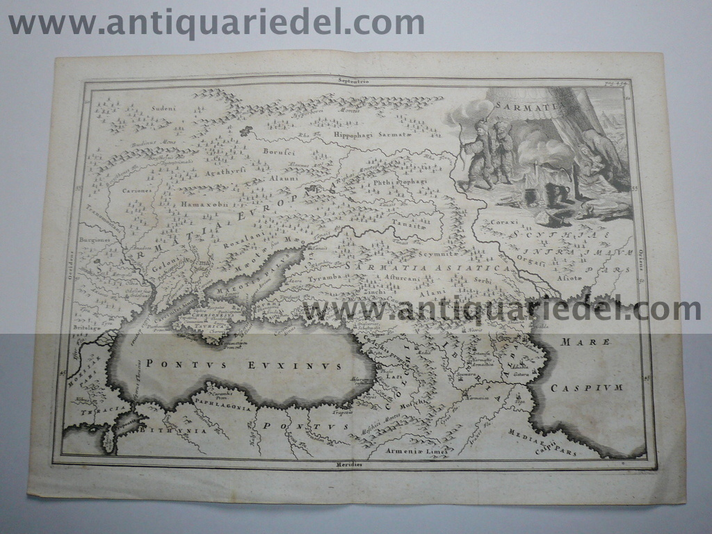 Sarmatia,map, edited approx.anno 1760,Copperengraving