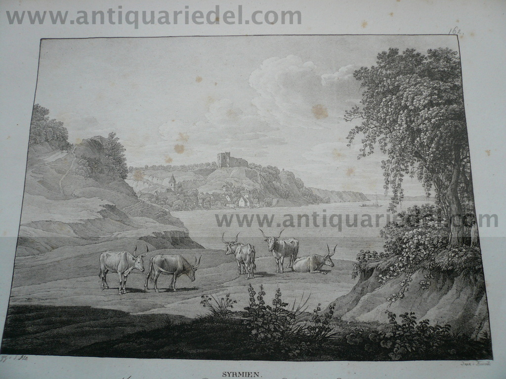 Schloss Sharingrad,anno 1825, Kunike, lithographie