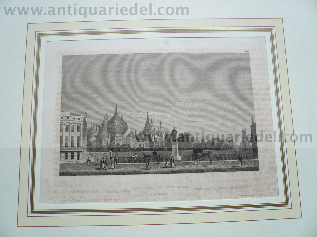 Brighton, anno 1850, steelengraving