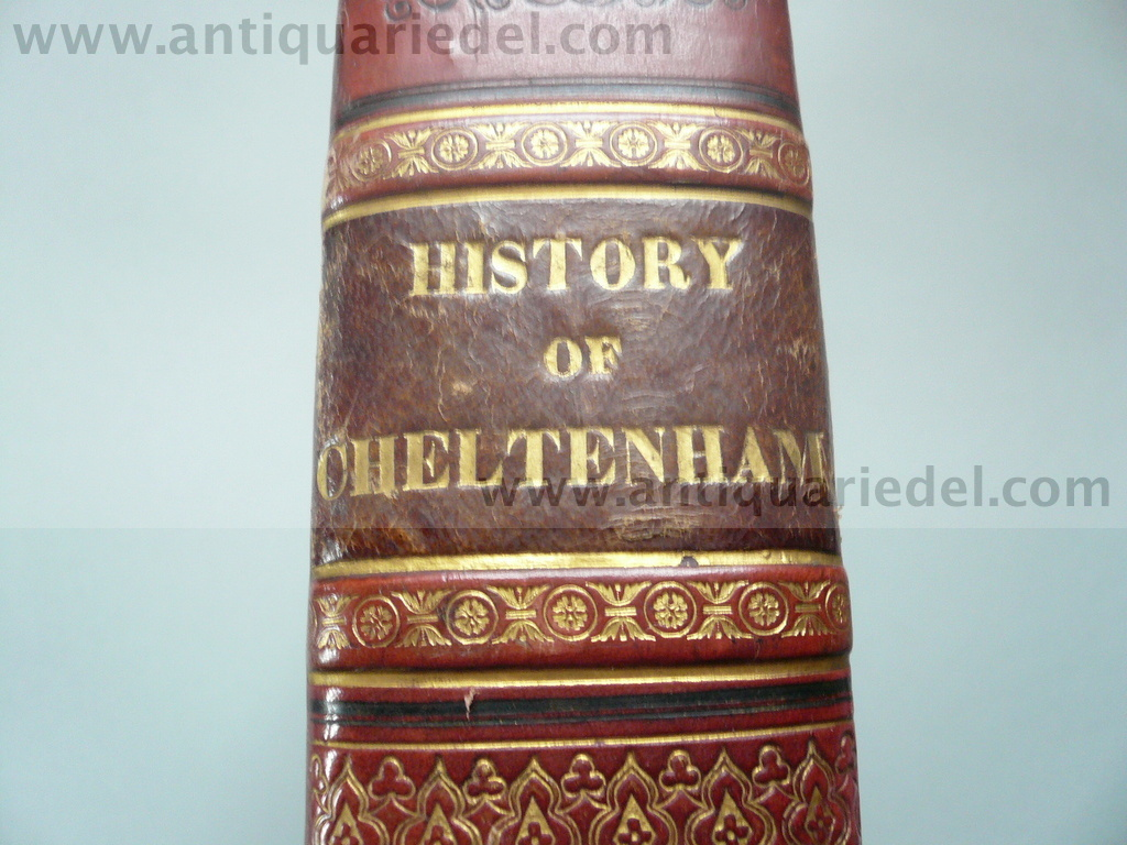Cheltenham description, anno 1826, 47 Stahlstiche