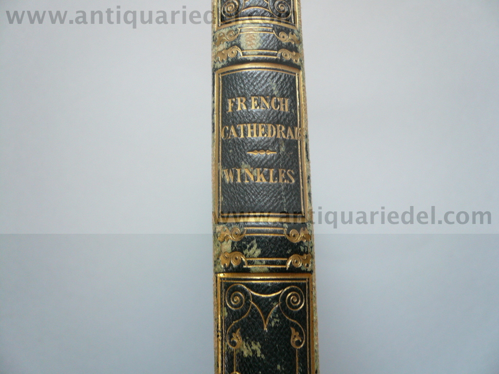 French Cathedrals, Winkles, anno 1837, 49 Stahlstiche