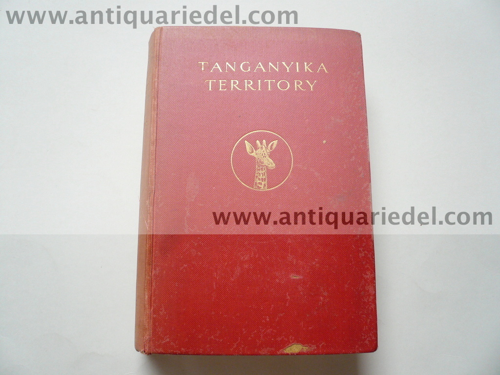 The handbook of Tanganyika, London 1930