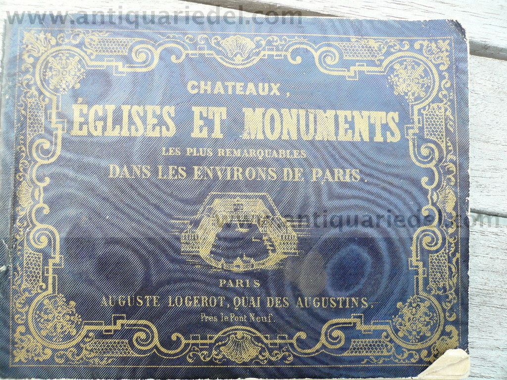 Chateaux, eglises, Monuments of Paris, anno 1860, 28 Stahlstiche