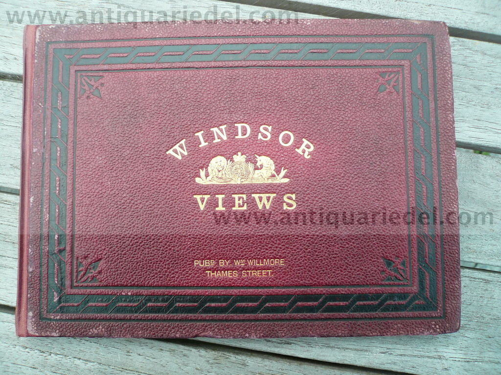 Windsor Views, anno 1860, 24 Stahlstiche