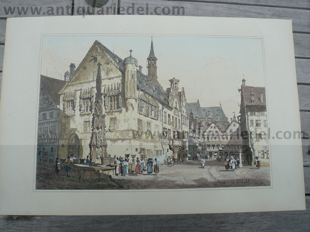 Ulm, anno 1830, Prout S., Litho