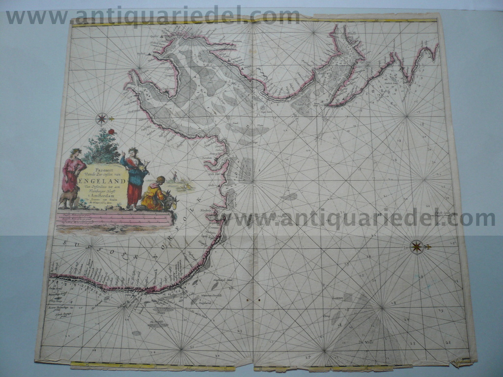 East-England/anno 1715, map, van Keulen