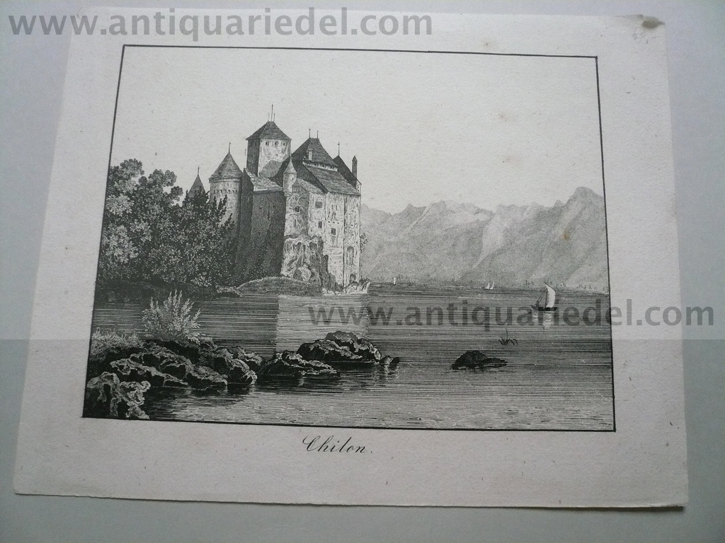 Chilon, anno 1830, Lithographie