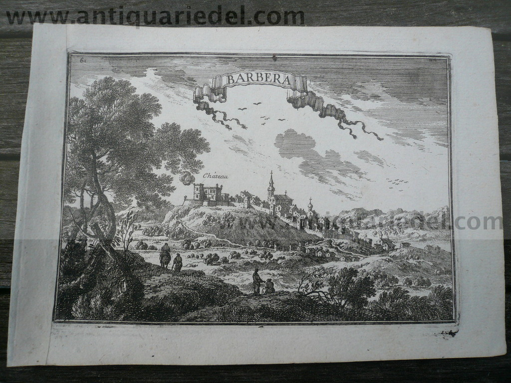 Barbera del Valles, Catalonia, anno 1668, Beaulieu