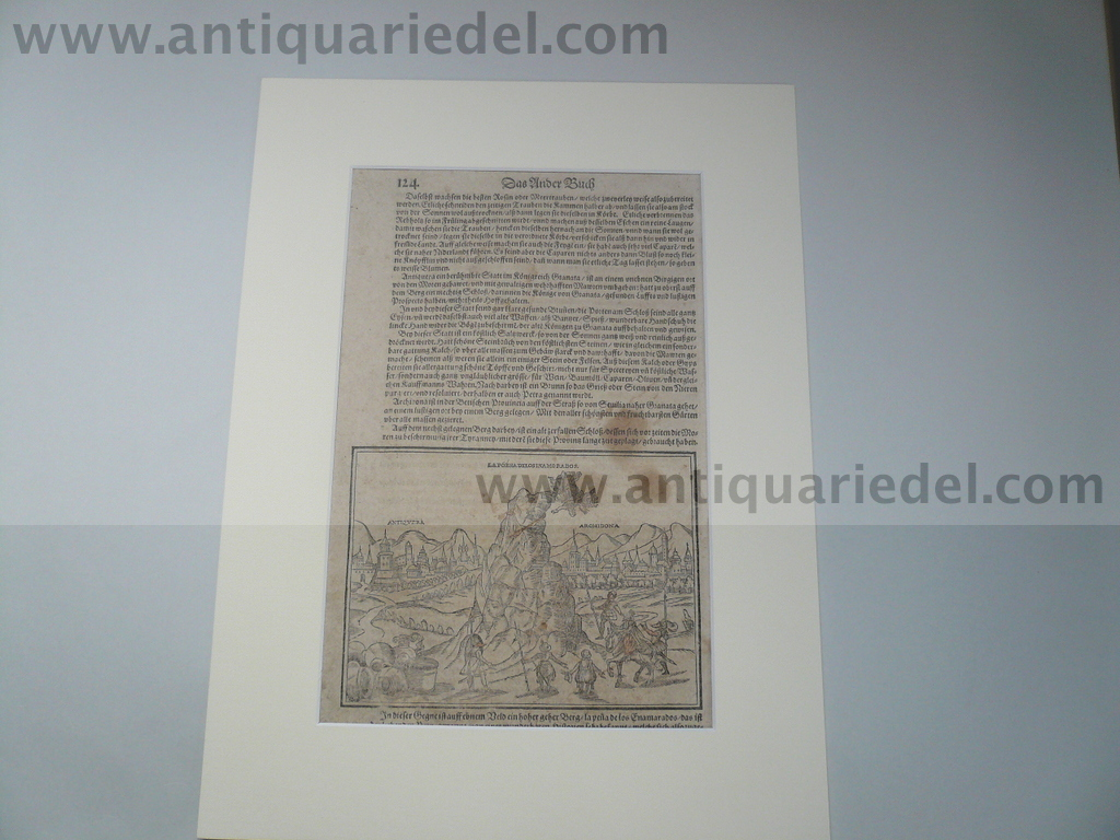 Archidona+Antequera, anno 1610, S. Münster, woodcut