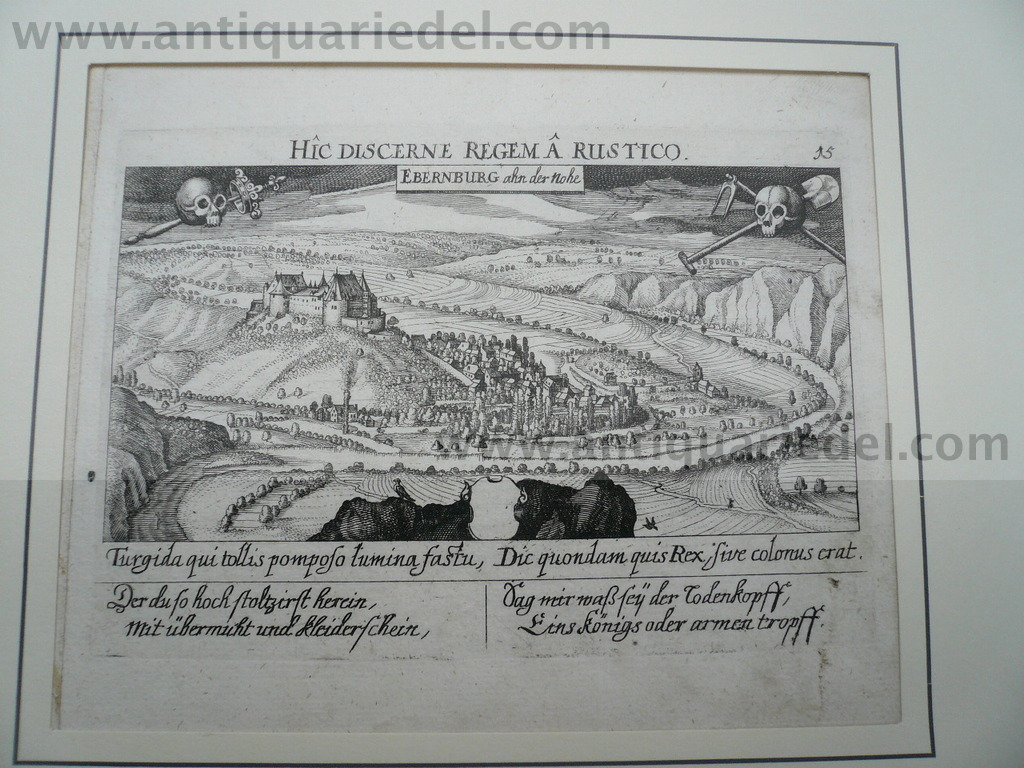 Bad Münster am Stein, anno 1630, Meisner/Kieser
