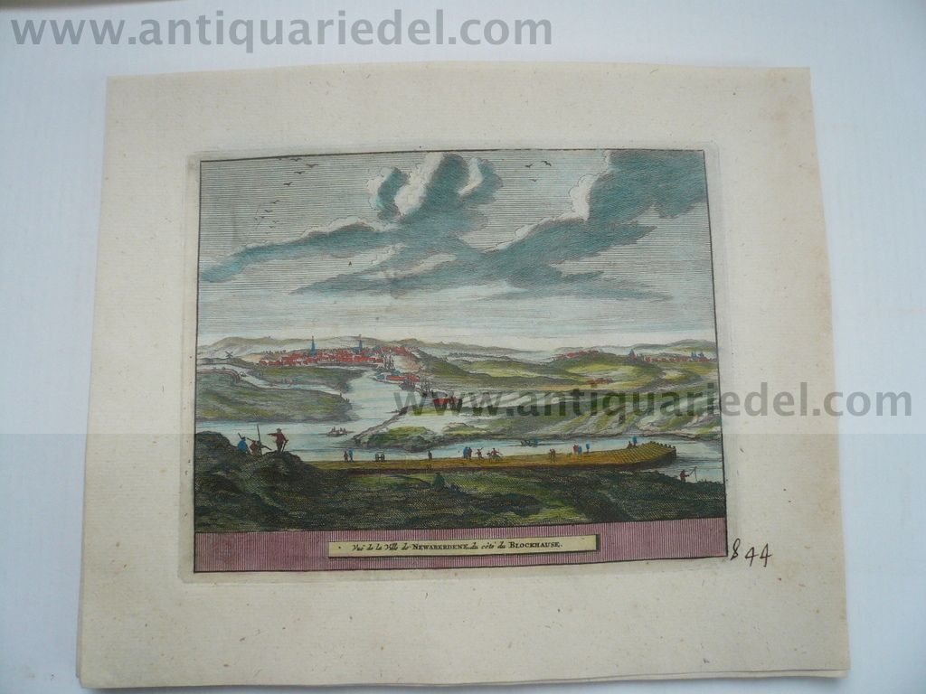 New-Aberdeen/Scotland, anno 1707, v.d. Aa, copperengraving