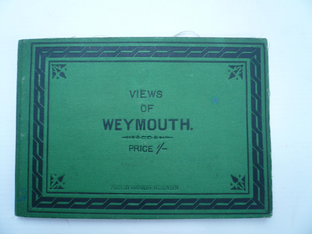 Weymouth/Dorset-views of, Ratcliff, 24 steelengravings
