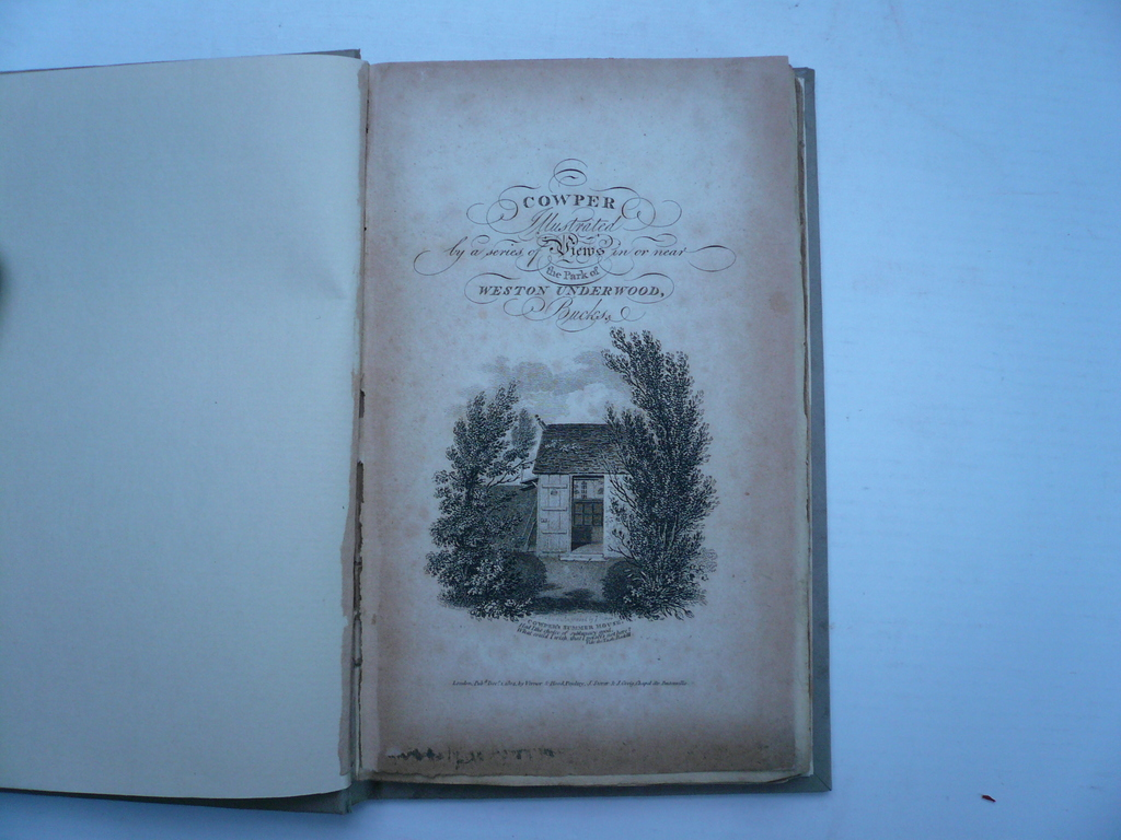 Weston Underwood, Park, Cowper W., anno 1804