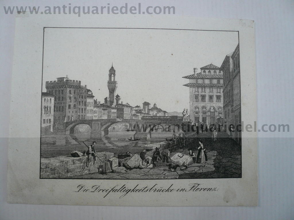 Firenze, anno 1850, engraving, size of the leaf: 15x20 cm..