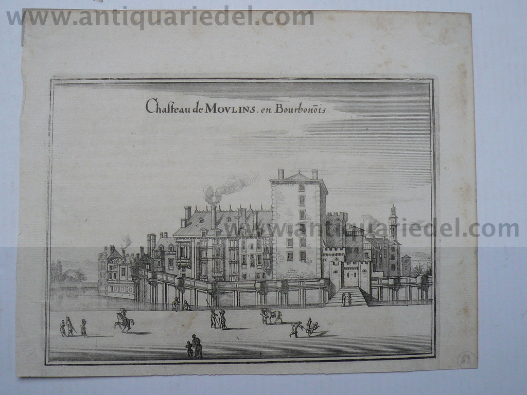 Moulins, anno 1660, Merian