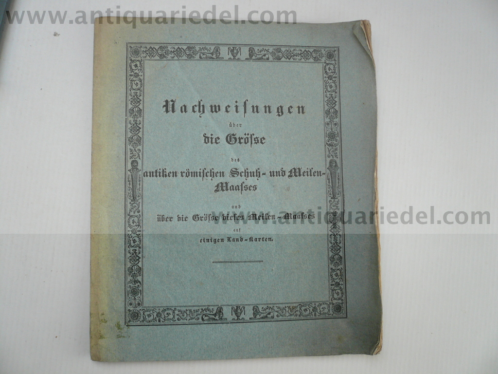 Geographie, Rom, Militaria, anno 1836, Weishaupt Carl