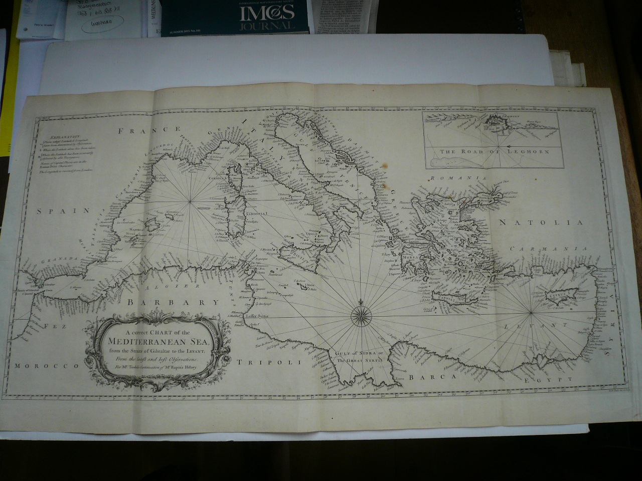 A correct CHART of the MEDITERRANEAN SEA, from the Straits of Gi