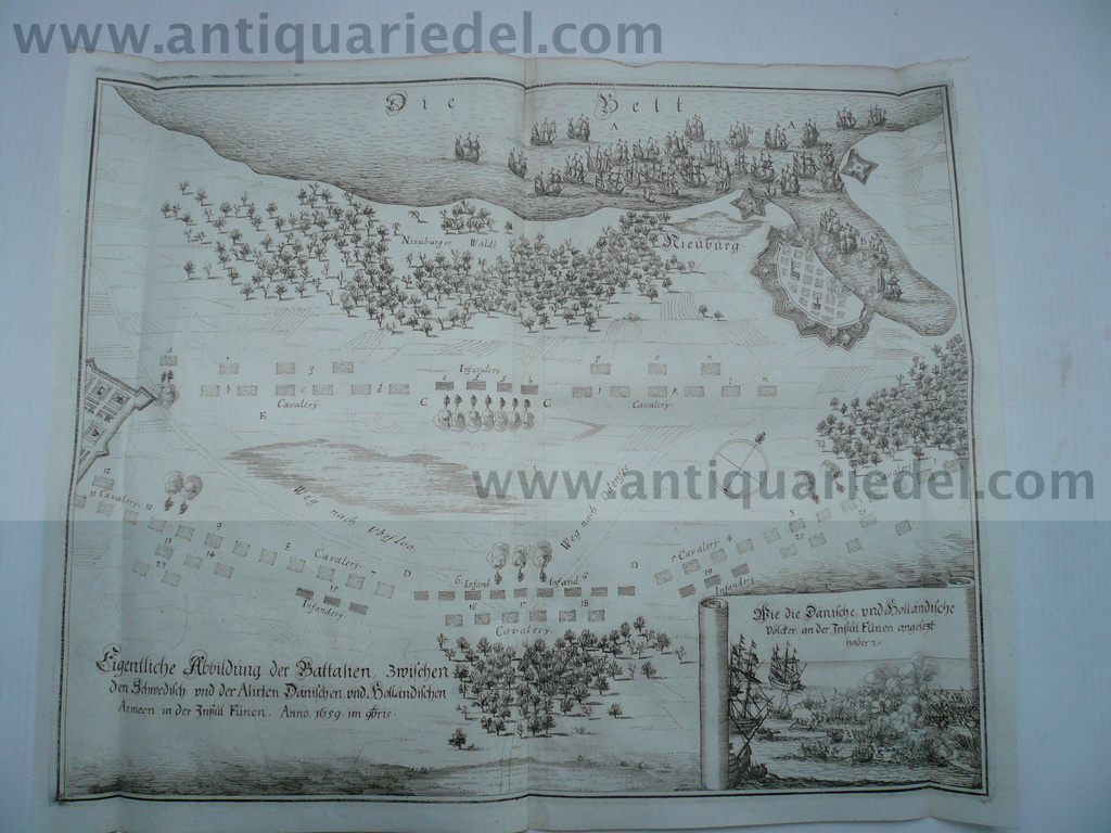 Battle of Nyborg, anno 1659, Theatrum Europaeum, vol VIII, 1671