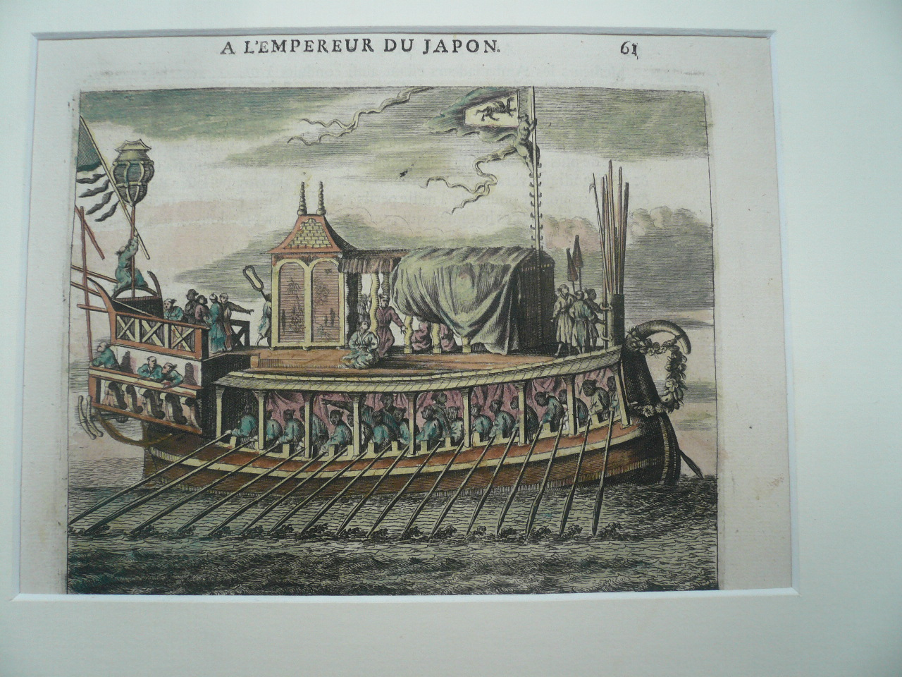 Ambassade Memorable, anno 1680, Montanus-JAPON- Japon, anno 1680