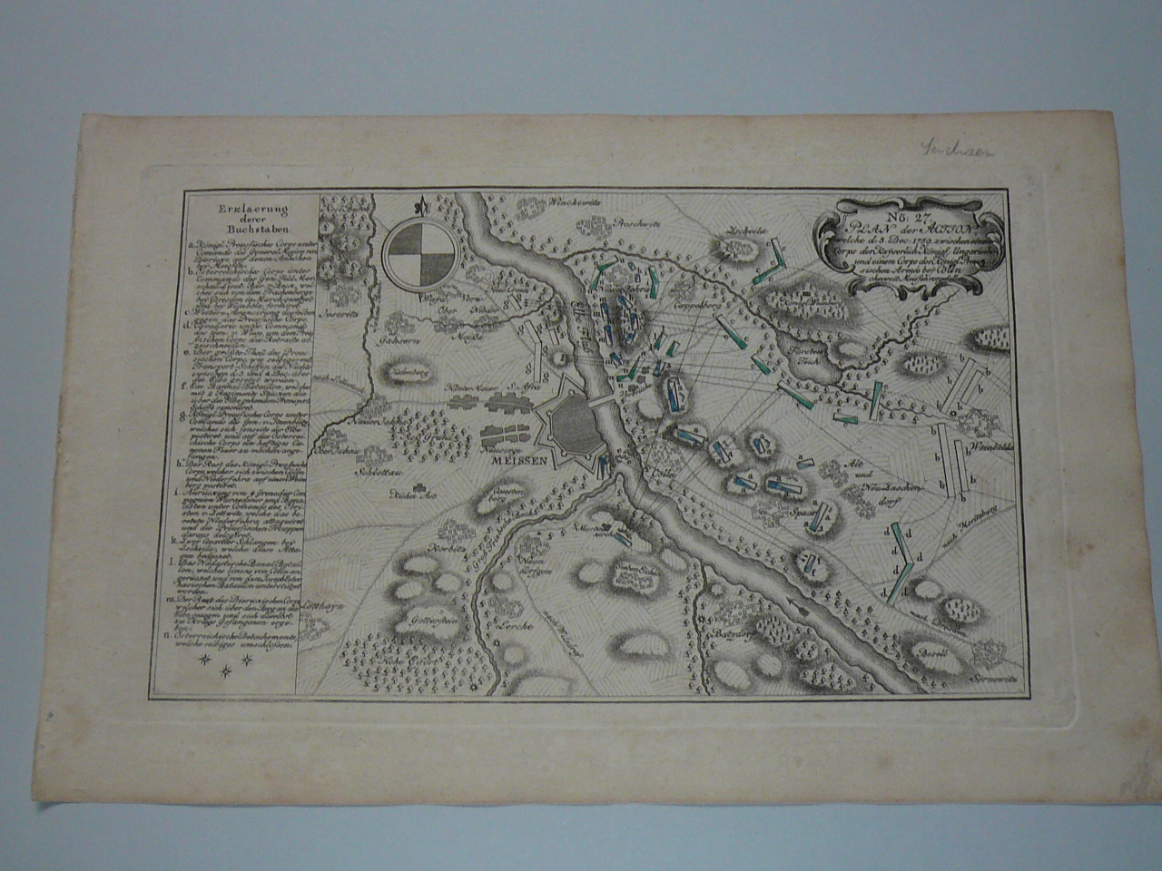 Meissen, map anno 1765